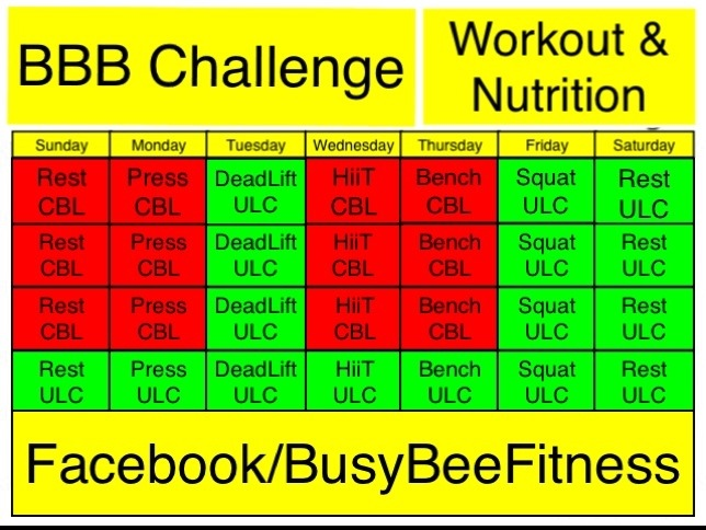 3 months to getting big busy bee fitness 20130210 204437g maxwellsz